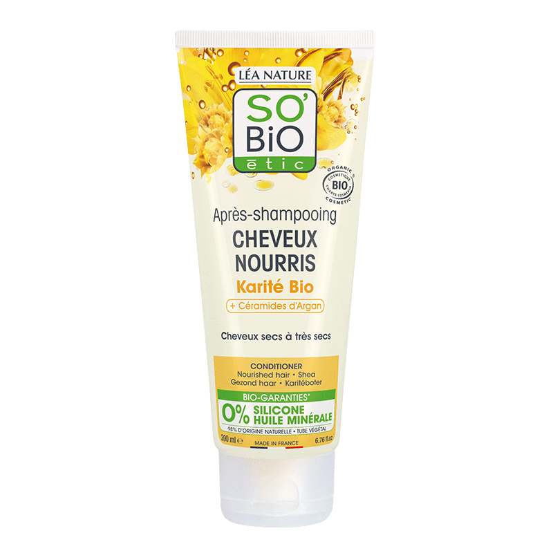 Nourished Hair Shea Butter Conditionner_image