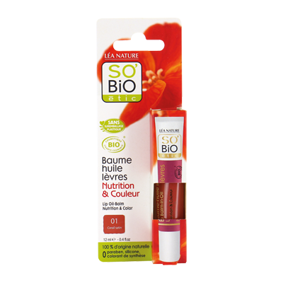 Lip Balm Oil – 01 Satiny Coral_image